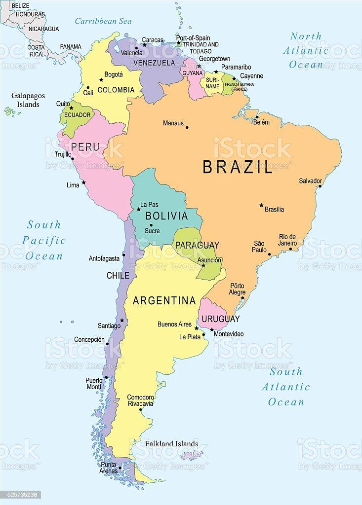 South America Map Illustration Stock Illustration - Download ... on la paz map, bogota map, georgetown ohio map, falkland islands map, georgetown florida map, columbia north america map, georgetown caribbean map, georgetown ontario map, georgetown dc, galapagos islands map, brasilia map, georgetown guyana map, latin america map, cayenne map, georgetown tx school zone map, camp humphreys south korea map, georgetown jamaica map, lake titicaca map, montevideo map, georgetown alaska map,