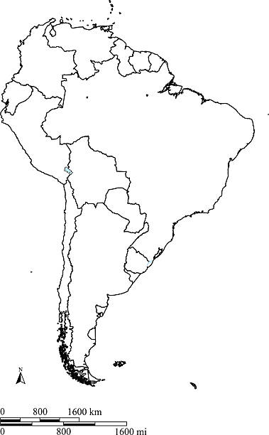 Top Blank Map South America Clip Art, Vector Graphics and ...