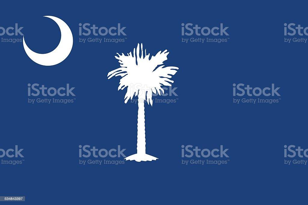 south carolina flag clip art, vector images & illustrations - istock