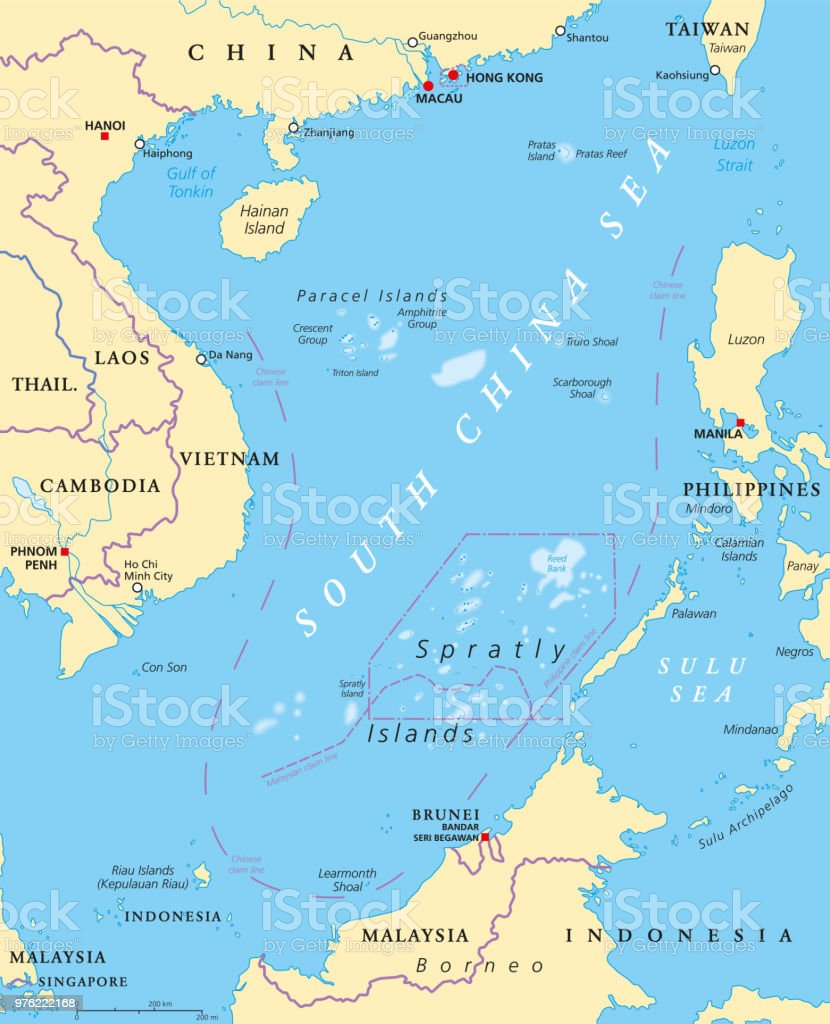 South china sea islands political map stock vector art more images south china sea islands political map royalty free south china sea islands political map gumiabroncs Gallery