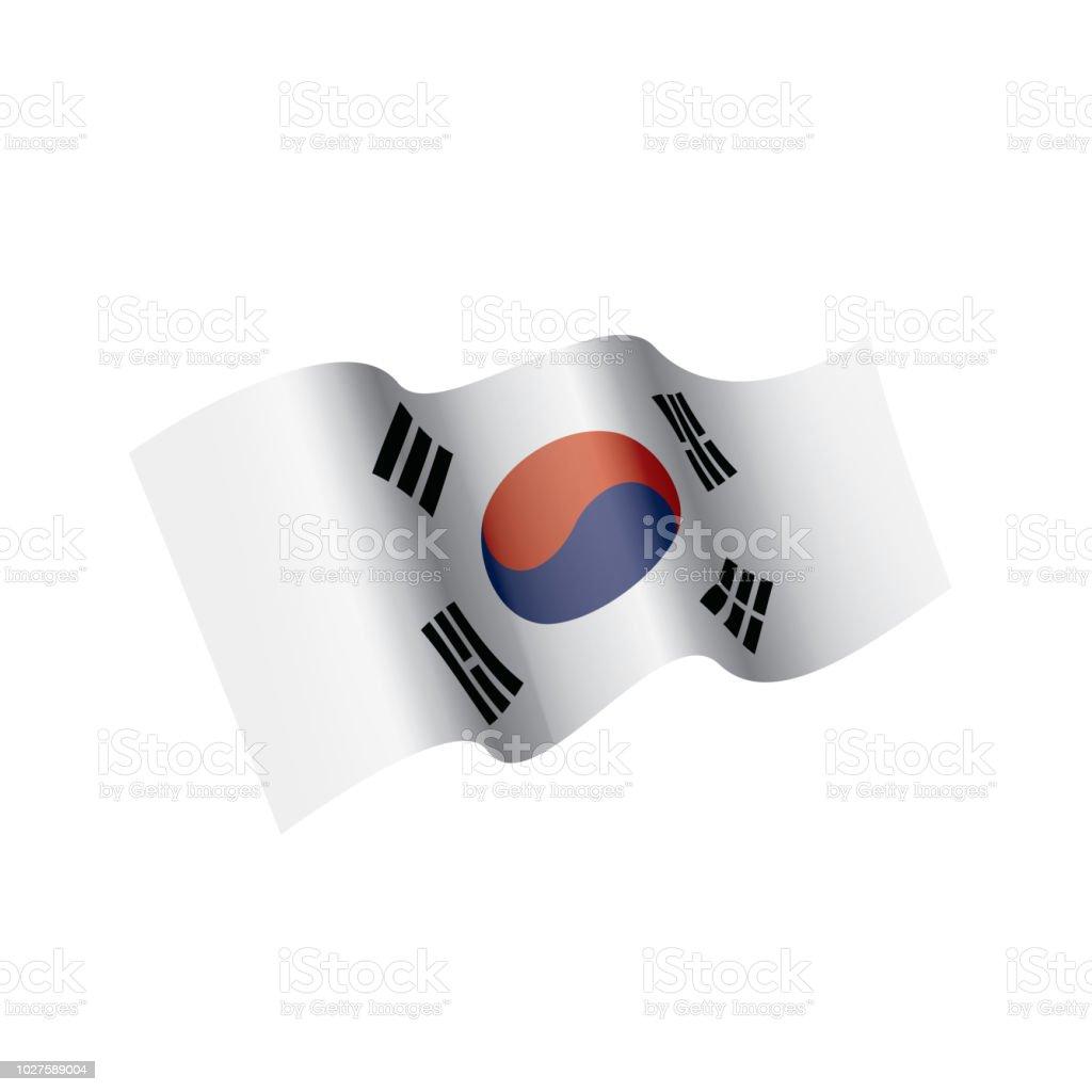 South Korea Flag Bikini Top