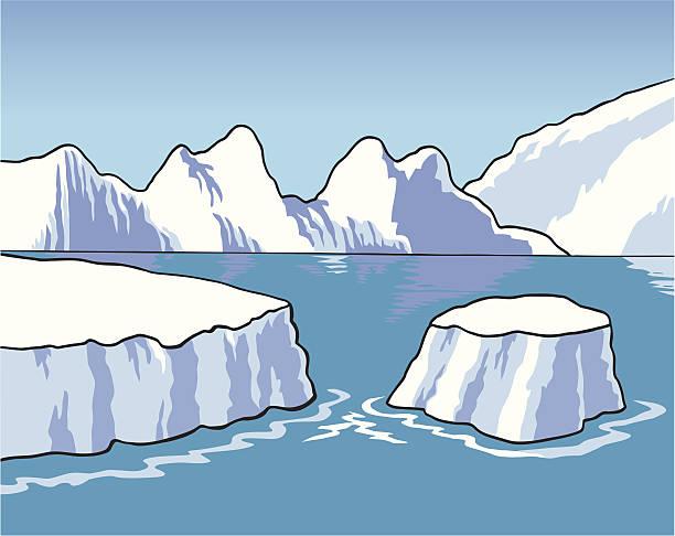 s 極 - 南極旅行点のイラスト素材/クリップアート素材/マンガ素材/アイコン素材