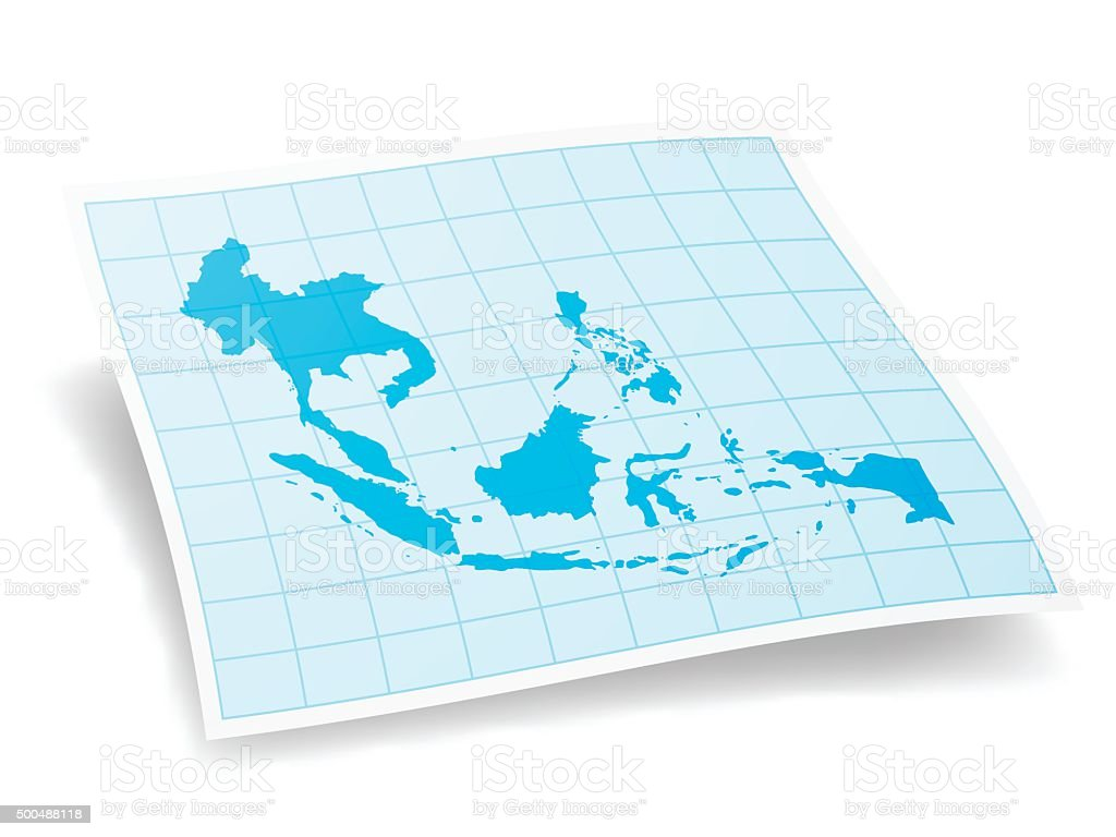Southeast asia map isolated on white background stock vector art southeast asia map isolated on white background royalty free southeast asia map isolated on white publicscrutiny Gallery