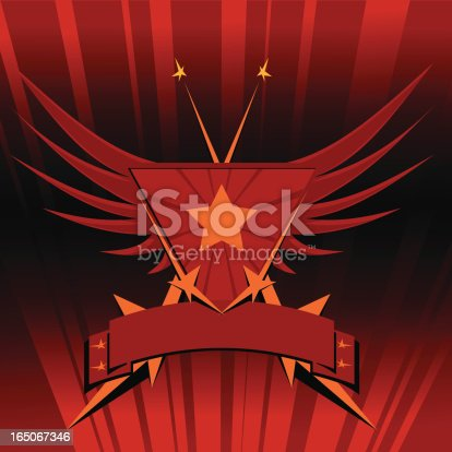 istock Soviet emblem style II 165067346