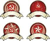 tes of four communism classic indignias