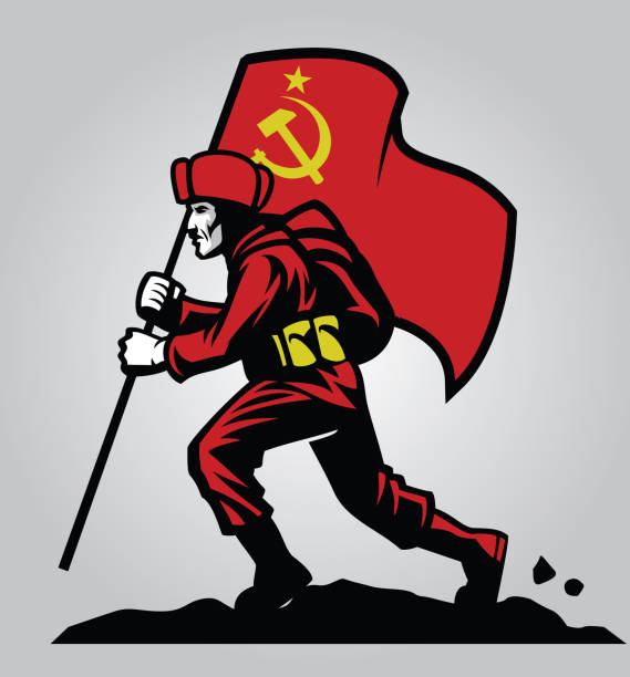 Best Soviet Army Illustrations, Royalty-Free Vector Graphics