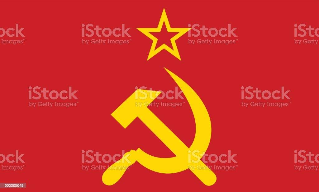 Soviet Union vector art illustration