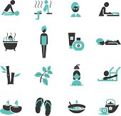 Spa and Wellness icons.