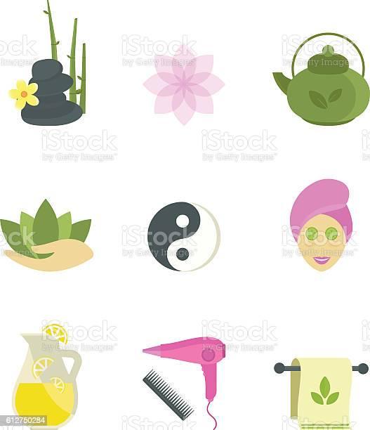Spa beauty body care vector icons vector id612750284?b=1&k=6&m=612750284&s=612x612&h=mtxmzrxtjwwr7mdkugoq5wab3arb 8oxmndgv2gw56u=