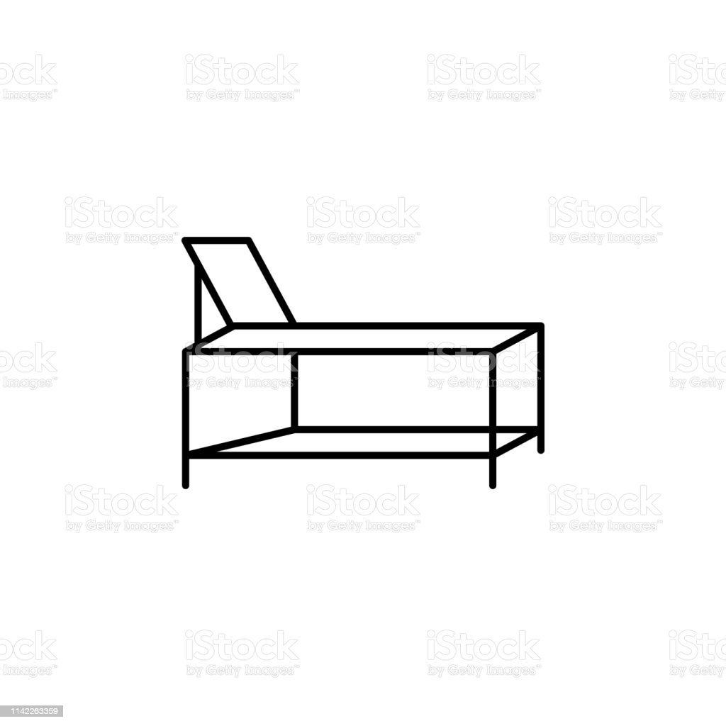 Awe Inspiring Spa Bed Outline Icon Signs And Symbols Can Be Used For Web Cjindustries Chair Design For Home Cjindustriesco