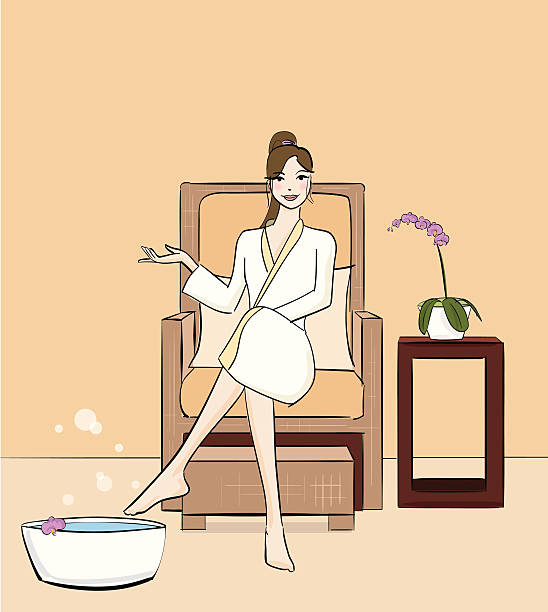 Pedicure Clipart: Best Pedicure Illustrations, Royalty-Free Vector Graphics