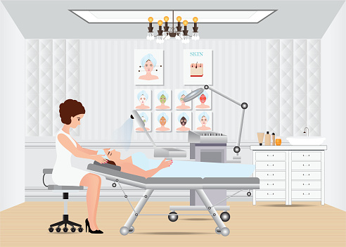 Dermatologist stock illustrations