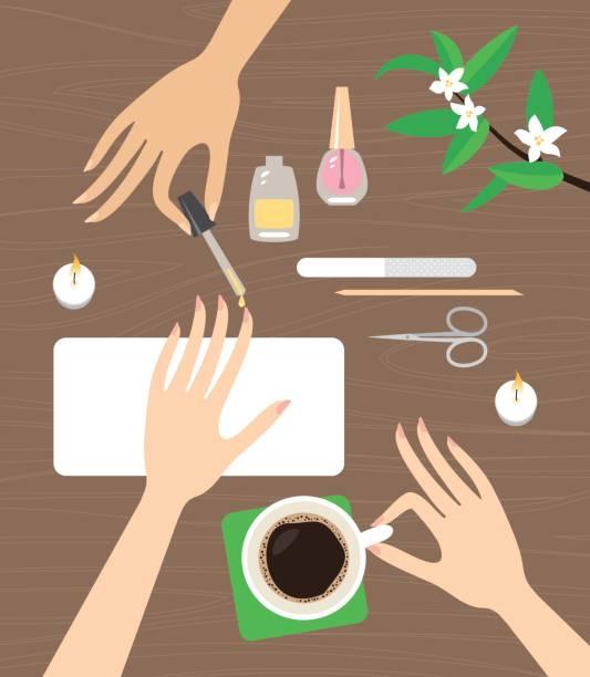 Royalty Free Nail Salon Clip Art, Vector Images