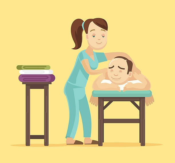 Royalty Free Massage Therapist Clip Art, Vector Images ...
