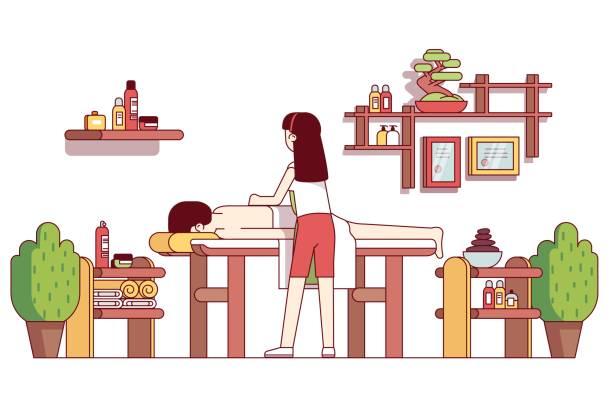 Royalty Free Shiatsu Clip Art, Vector Images