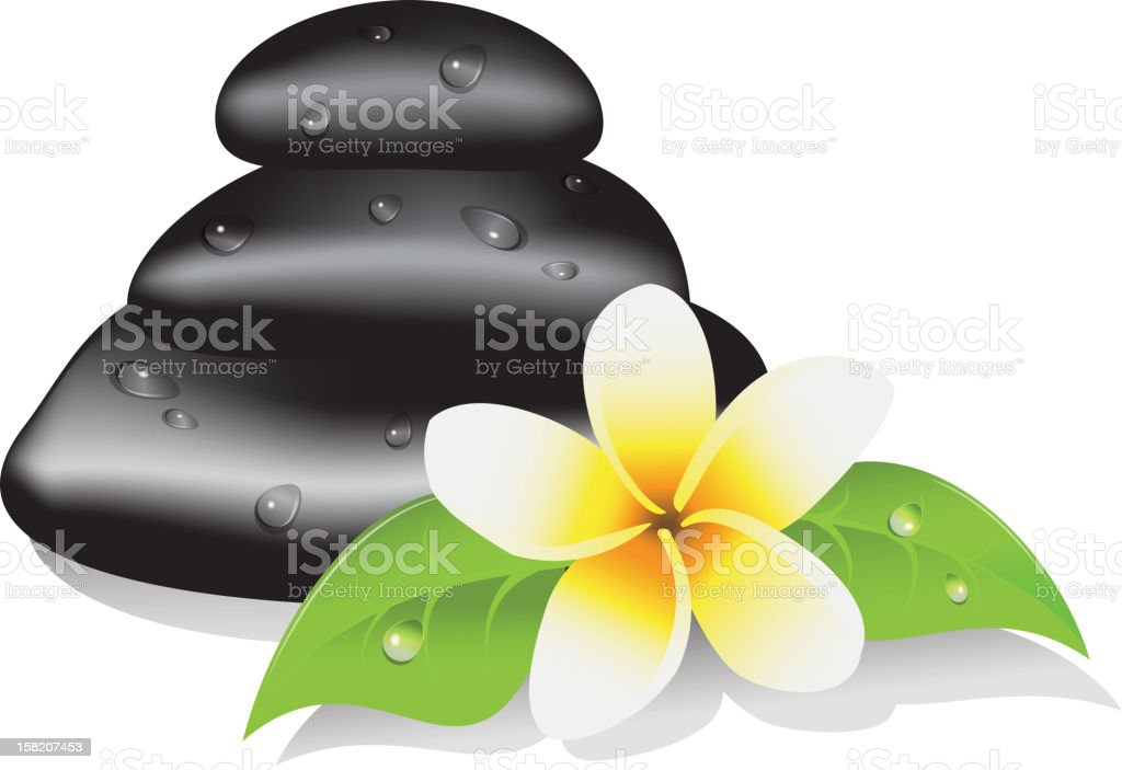 spa therapy royalty-free stock vector art
