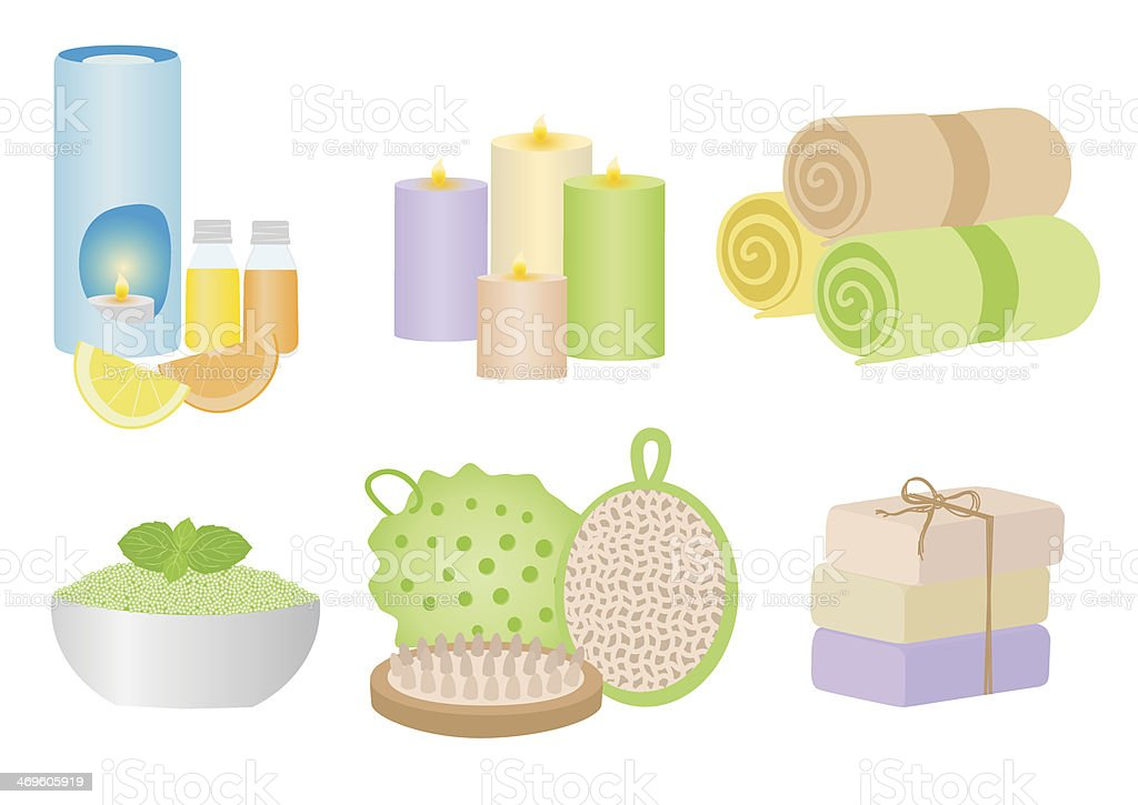 Spa Treatment royalty-free spa treatment stock vector art & more images of aromatherapy