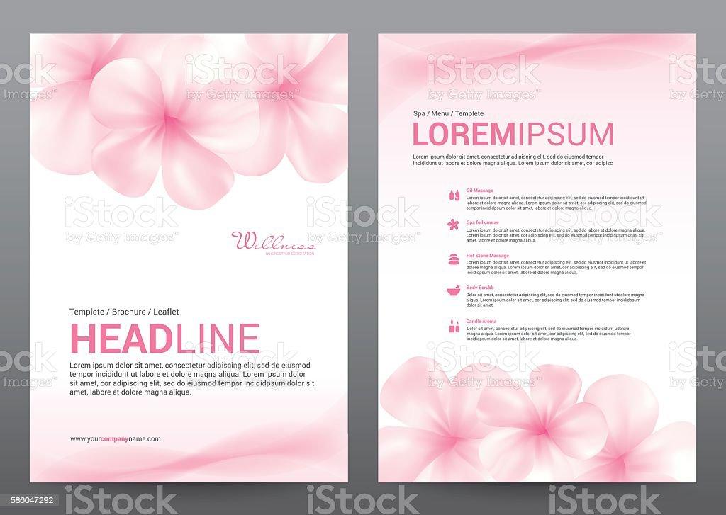 spa wellness medical topic template elements presentation broc stock