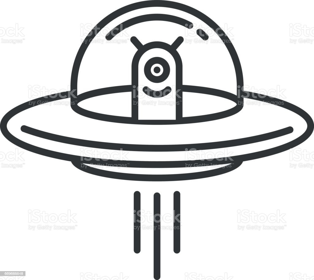 royalty free ufo clip art vector images illustrations istock rh istockphoto com Alien Abduction ufo clipart png