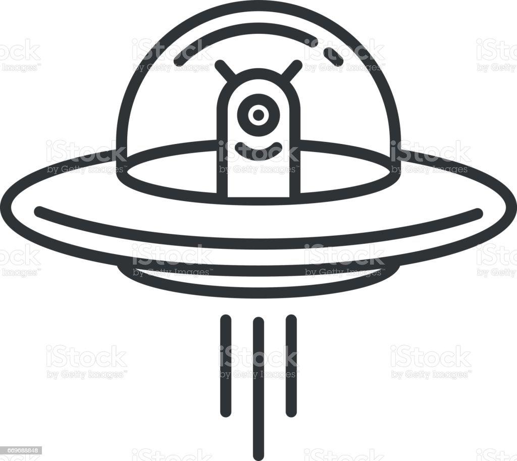royalty free ufo clip art vector images illustrations istock rh istockphoto com ufo abduction clipart ufo clip art free