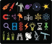Space & Science Icons