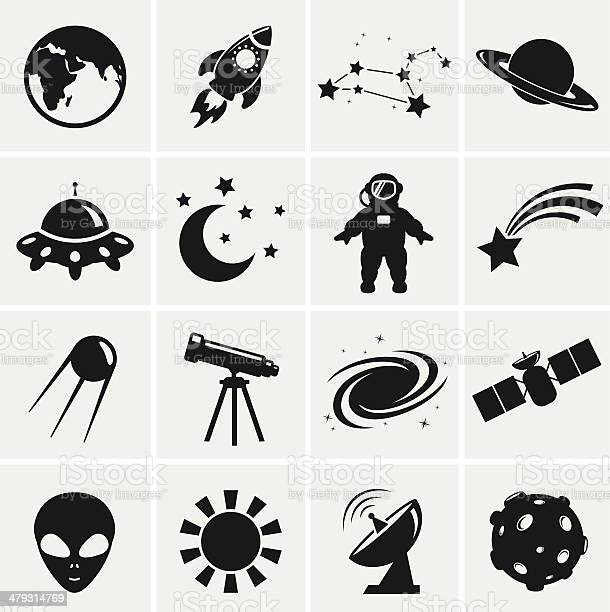 Space and astronomy icons vector set vector id479314769?b=1&k=6&m=479314769&s=612x612&h=yz99y5zfnrqlhvhowuvscnsz5g7c2c c4npcg2houqm=