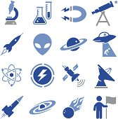 Space and Science Icons - Pro Series