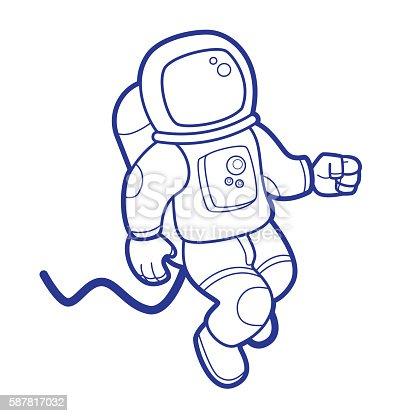 Space Astronaut Stock ...