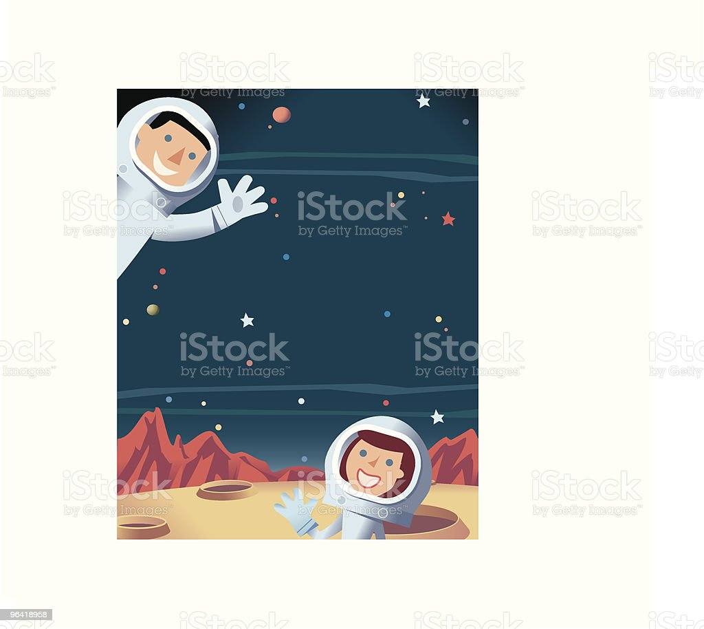 Space + Astronauts royalty-free space astronauts stock vector art & more images of adult