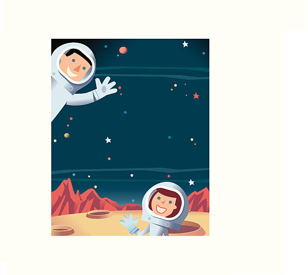 Space + Astronauts http://dl.dropbox.com/u/38654718/istockphoto/Media/download.gif astronaut floating in space stock illustrations