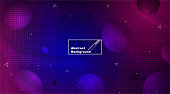 Space Background and Abstract dark blue Background