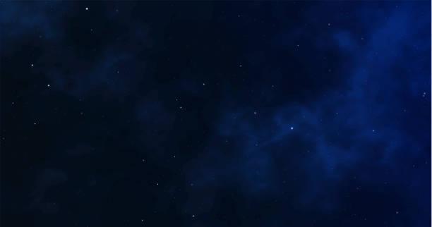 スペースの背景。星空の星空。無限の宇宙と光の星空。ベクトルの図 - 空点のイラスト素材/クリップアート素材/マンガ素材/アイコン素材