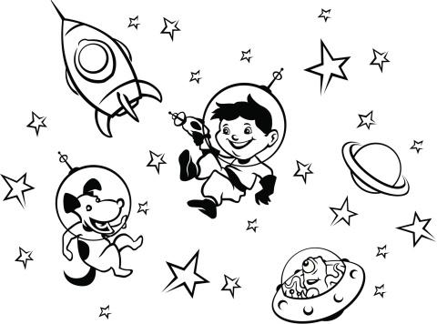 Space Boy - Color Me!