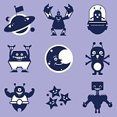 Space character shapes