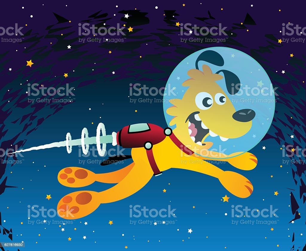 Space Dog royalty-free space dog stock vector art & more images of animal hair