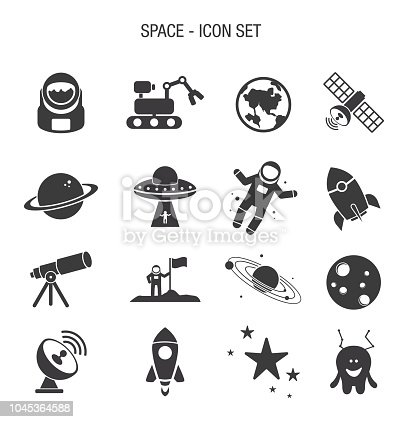 Vector of Space Icon Set