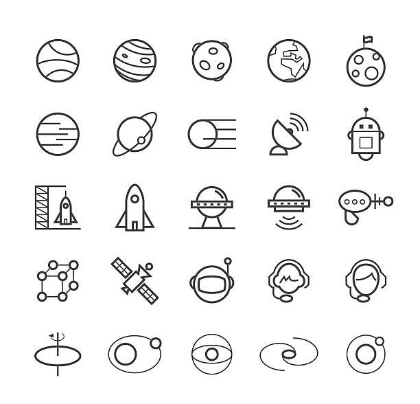 raum icons. - aerial overview soil stock-grafiken, -clipart, -cartoons und -symbole