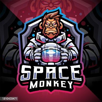istock Space monkey 1310420471