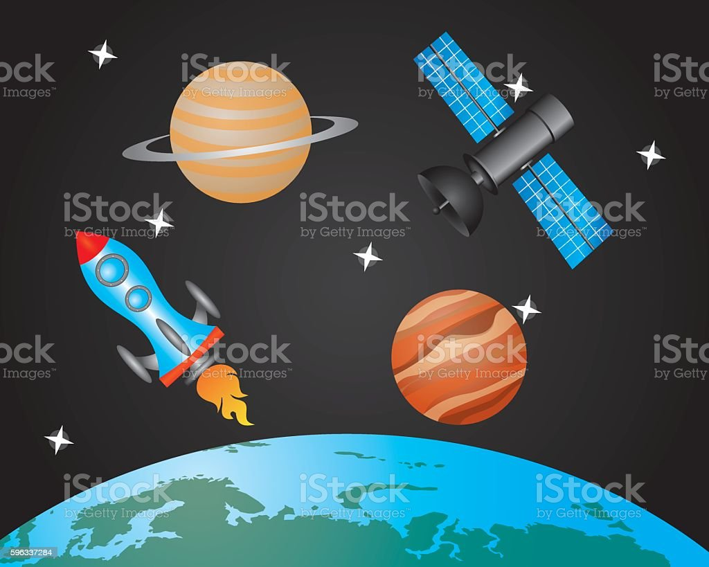 space object royalty-free space object stock vector art & more images of alien