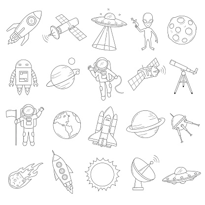 Space Object Vector Set