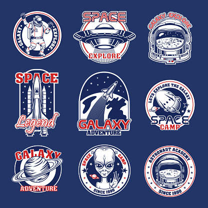 Space patches set