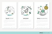 Space Research Business Brochure Template