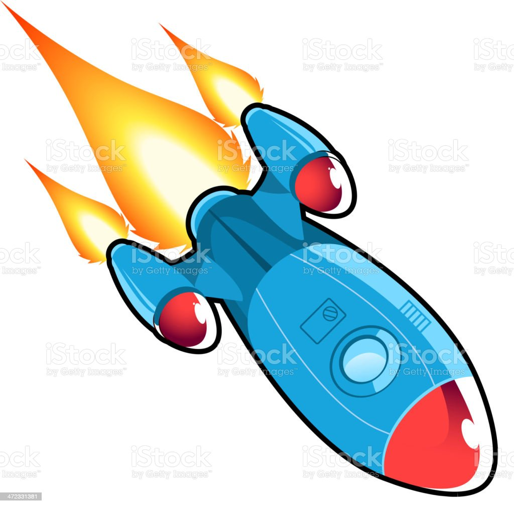 Space rocket ship royalty-free space rocket ship stock vector art & more images of clip art