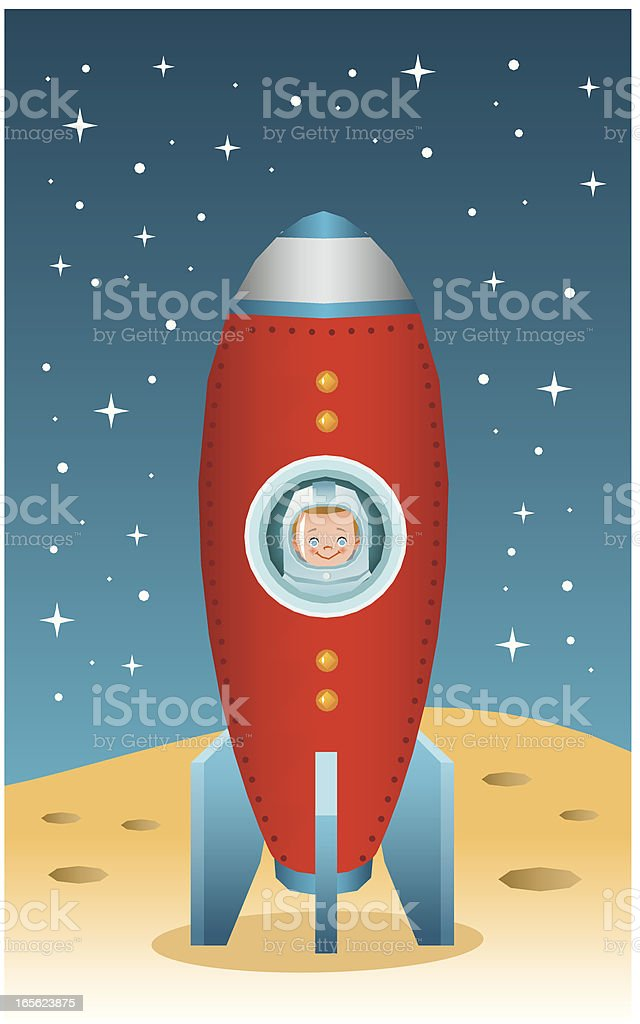 Space rocket royalty-free space rocket stock vector art & more images of astronaut