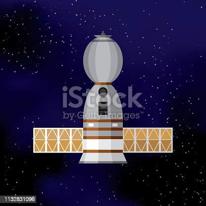 istock Space Shuttle Icon 1132831096