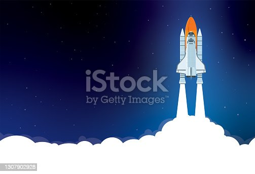 istock Space Shuttle Launch 1307902928