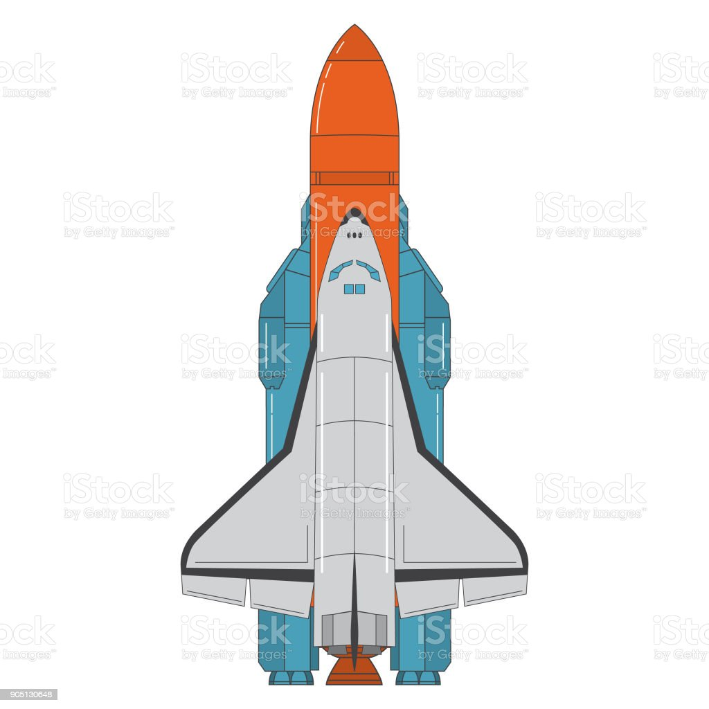 space shuttle missile launch concept design an icon rocket flat line rh istockphoto com space shuttle vector free space shuttle thrust vectoring