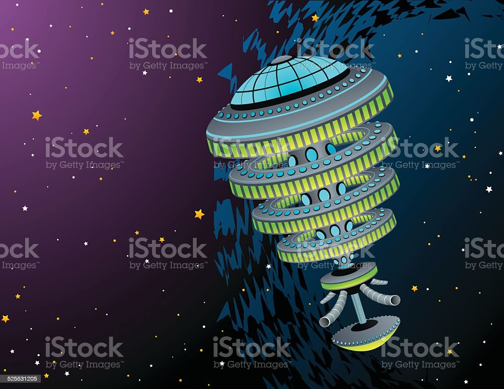 Space Station royalty-free space station stock vector art & more images of adventure