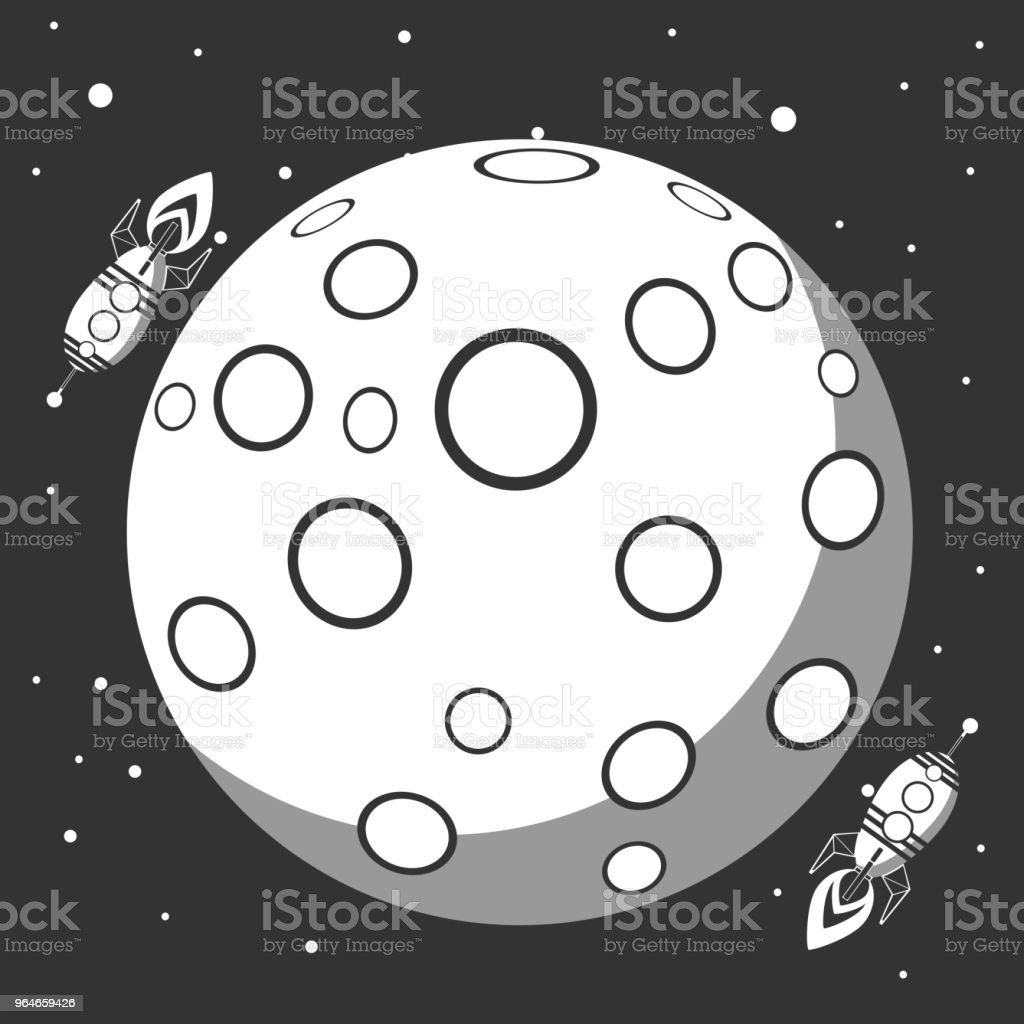 Space travel to the moon. Space rocket launch royalty-free space travel to the moon space rocket launch stock vector art & more images of astronomy