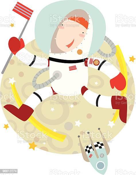 Space Walking-vektorgrafik och fler bilder på Astronaut